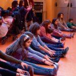 Clases en la escuela de interpretación Cristina Rota