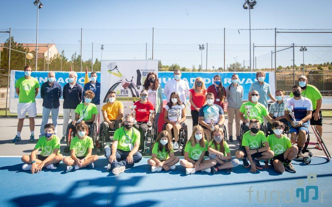 Celebrado el VI Open Internacional Fundación ONCE 'Ciudad de Rivas' de tenis en silla de ruedas