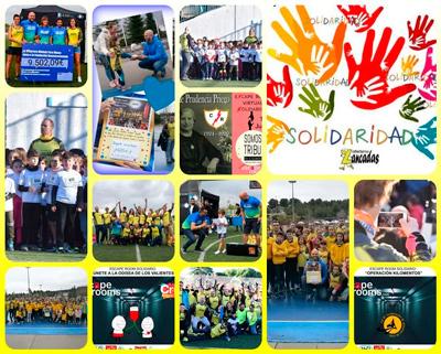 Objetivos solidarios del Club Atletismo Zancadas